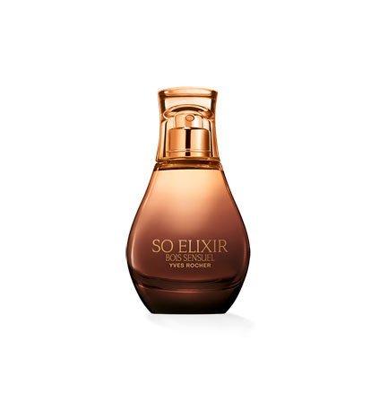 Yves Rocher - Eau de Parfum So Elixir Bois Sensuel (30 ml): ein femininer, sinnlicher Damen-Duft voller Eleganz, Valentinstag Geschenkidee für Frauen