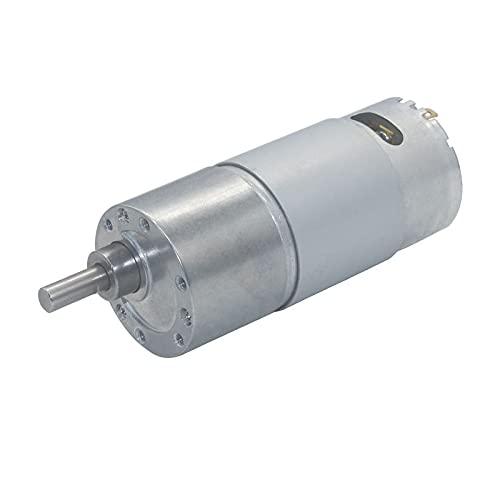 LKK-KK JGB37-550 Motor de torsión alto 12V DC Motor 6V Todo Motor eléctrico de metal (Speed(RPM) : 12v 1450rpm)