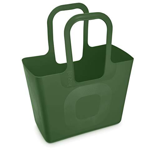 Koziol Tasche XL Custodia, Verde Foresta, 215x440x540 mm