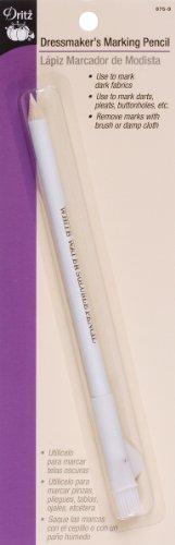 Dritz 675-9 Dressmaker's Marking Pencil, White