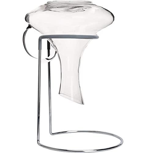 Supporto per decanter da vino, in acciaio inox, per lavanderia, per caraffe, anticalcare