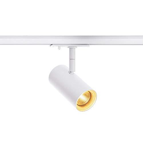 SLV NOBLO Spot, weiß, 2700K, 36°, inkl. 1P-Adapter Leuchte, Aluminium, 7.5 W