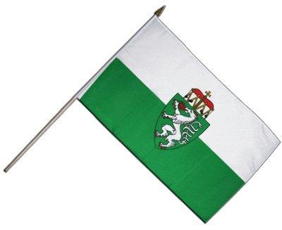 Flaggenfritze Stockflagge Österreich Steiermark - 30 x 45 cm