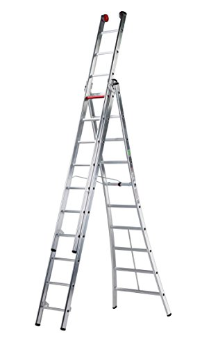 altrex Rocky 2-delige multifunctionele ladder, 3 x 10