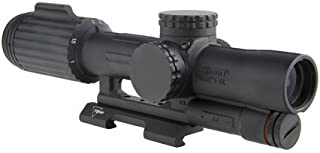 Trijicon VC16-C-1600051 Vcog 1-6x24mm Green Segmented Riflescope, Circle/Crosshair .308/175 Grains Ballistic Reticle with Quick Release Mount, Blk