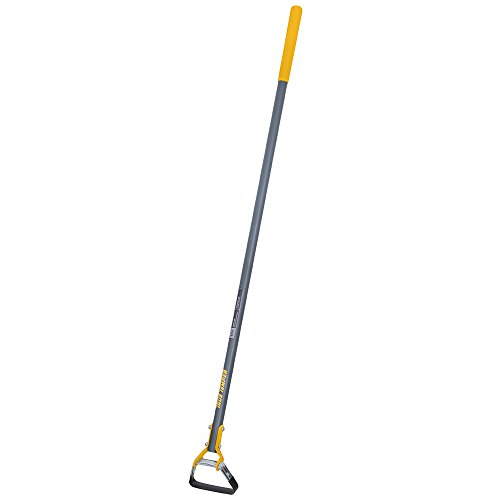 True Temper 266078500 Looped Action Hoe Cultivator with Fiberglass Handle with Cushion Grip