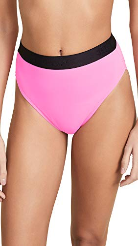 BETH RICHARDS Women's Kim Bikini Bottoms, Candy, Pink, Small