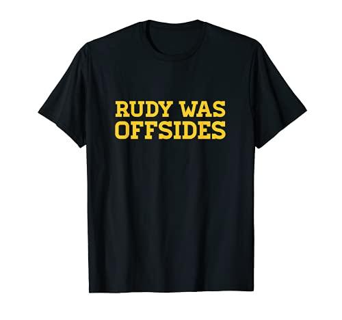 Rudy fue fuera de CFB Camiseta