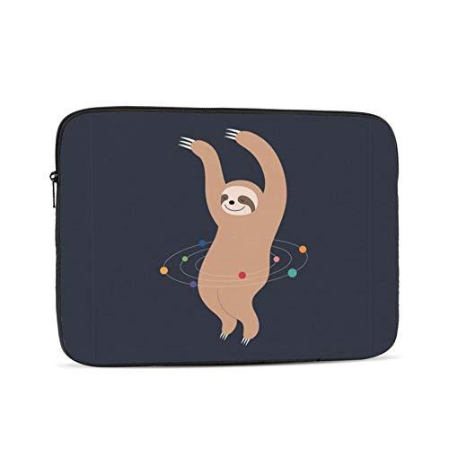 10'' 12'' 13'' 15'' 17'' Sloth Laptop Shoulder-Bag - Canvas Computer Tablet Protective Carrying Case Notebook Briefcase