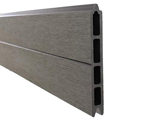 bambus-discount.com Einzelbretter WPC Sichtschutz, anthrazit mit 15x2,1x178 - Sichtschutz, Sichtschutz Elemente, Sichtschutzwand, Windschutz, Sichtschutzzäune