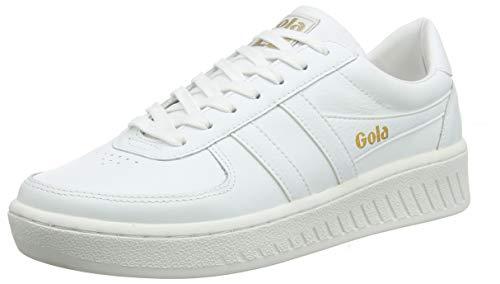 Gola Herren Cma567 Sneaker, Weiß (White/White/White WW), 45 EU