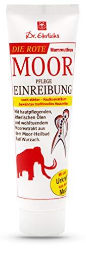 Dr. Ehrlichs Rote Mammuthus Moor Pflege Einreibung 100ml - extrastarke Pflege für mobile Muskeln und Gelenke - intensive Moorsalbe - starker Wärmeeffekt für Rücken, Nacken, Schulter und Gelenke