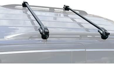 BRIGHTLINES 2008-2013 Jeep Liberty Steel Crossbars Roof Racks with Locks
