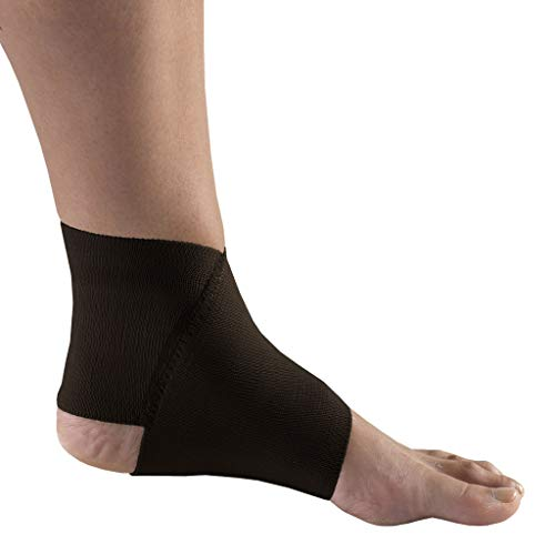 of compression socks dec 2021 theres one clear winner Champion Champion Figure-8 Ankle Support, Light Elastic Compression Brace, Muscle Joint Recovery, Black, Medium