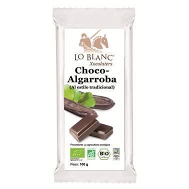 IJSALUT - Choco Algarroba Bio S/Cafeina Lo Blanc Xocolaters 100Gr