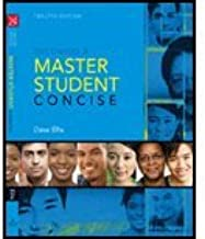 By Dave Ellis: Becoming a Master Student: Concise Twelfth (12th) Edition