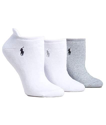 Ralph Lauren Frau Heel Tab Lowcut Socken 3Pack One Mehrfarbig Mittel