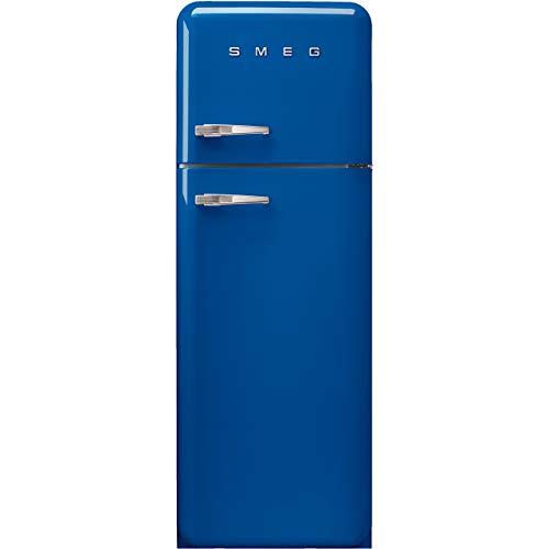 Smeg FAB30RBE3 nevera y congelador Independiente Azul 294 L A+++ - Frigorífico (294 L, SN-T, 4 kg/24h, A+++, C
