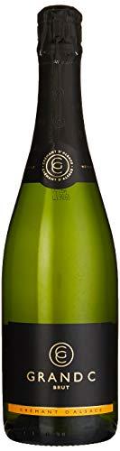 Joseph Cattin Grand C Brut Crémant d'Alsace AC Méthode Traditionelle, 1er Pack (1 x 750 ml)