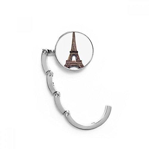 DIYthinker Torre Eiffel de París en Francia Tabla Gancho Plegable del Bolso...