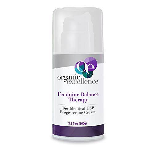 Feminine Balance Therapy - USP Bio-Identical Progesterone Cream - 3 oz