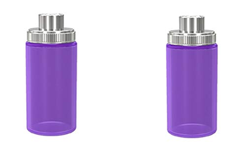 Wismec Luxotic Silikonflasche Sqounker Flasche 2 x (Lila)