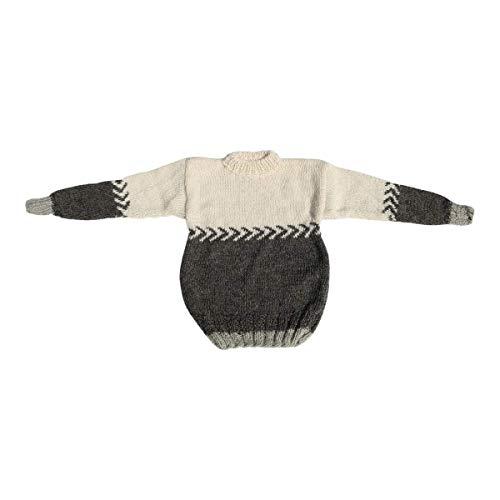 Hollert gebreide trui Norweger model 13 handgebreide unisex trui van pure schapenwol