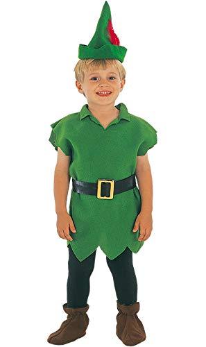 EUROCARNAVALES, SA Disfraz de Robin Hood con Gorro para niño B-(1/2 años)