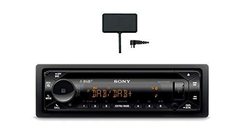 Sony MEX-N7300KIT DAB+ Autoradio mit CD, Dual Bluetooth, USB und AUX Anschluss | Bluetooth Freisprechen | 4 X55 Watt | 3X Preout | Extra Bass | Vario Color