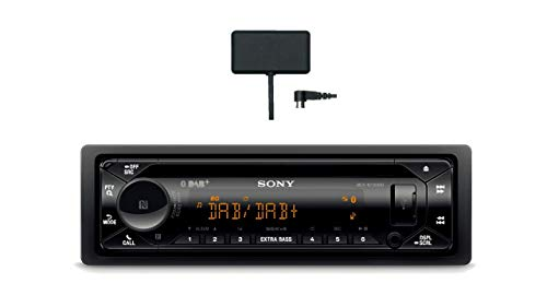 Sony MEX-N7300KIT DAB+ autoradio met CD, Dual Bluetooth, USB en AUX-aansluiting | Bluetooth handsfree bellen | 4 X55 Watt | 3X Preout | Extra bas | Vario Color