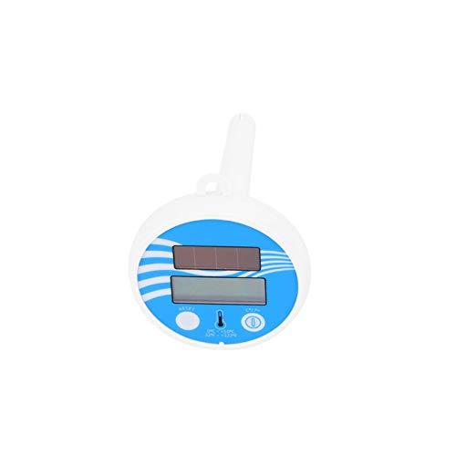 Termómetro de Agua Mini termómetro de Agua Flotante Duradero para Piscinas, spas, peceras, Acuario