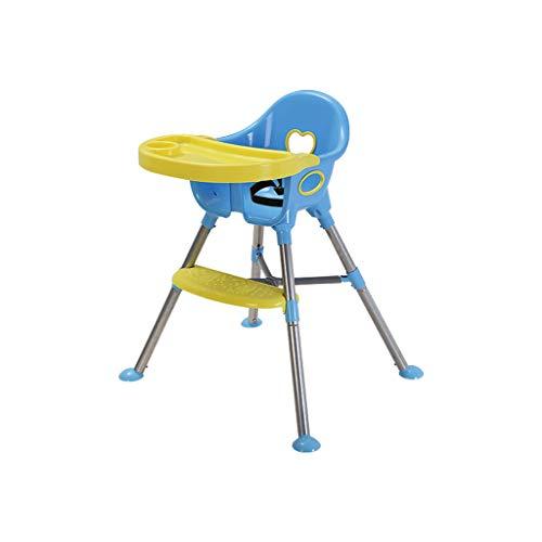 Jiamuxiangsi- kinderzitje kind eetkamerstoel baby multifunctionele eettafelstoel baby draagbare kunststof eetkamerstoel met plaat kan worden gecombineerd - babystoel