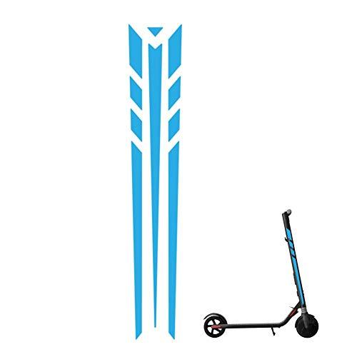 Funnyfeng reflecterende stickers voor scooter, PVC-materiaal, reflecterend effect, voor elektrische scooters, veiligheid 's nachts, zeer praktisch voor ES1, ES2, ES3, ES4