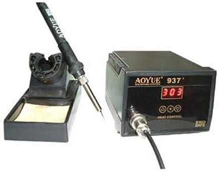 SATKIT Estacion de soldadura regulable DIGITAL de 0 a 65 W Aoyue 937+
