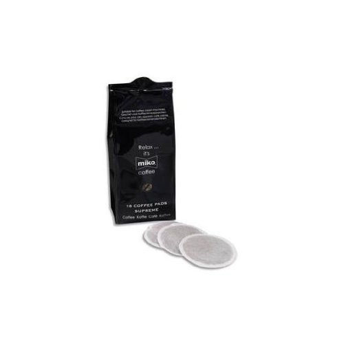 Sachet de 18 Dosettes souples de café 7g Pads Suprême expresso extra 100% Arabica