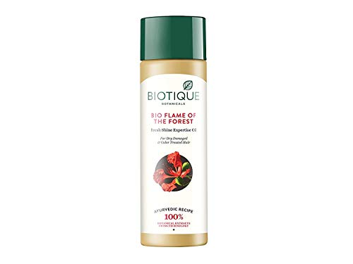 Biotique Flame of the Forest Fresh Shine Expertise Oil for Color Treated and Permed Hair