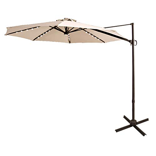 FLAME&SHADE 10' Cantilever Umbrella
