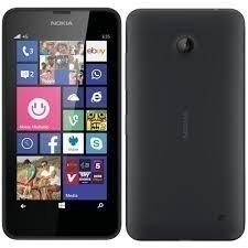Smartphone Nokia Lumia 635, Movistar Libero,4G, schermo 4,5', 8 gb, Micro-SIM singola, SO Windows Phone 8.1, per tutti gli operatori,-Nero