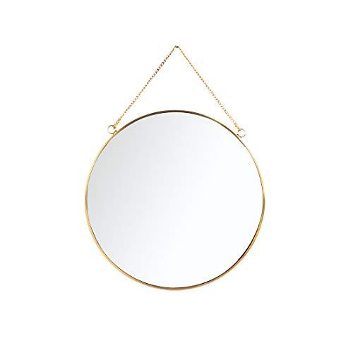 vintage round mirror - 2