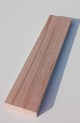 1 Stück 29mm starke Holzleisten Kanthölzer Bretter Kernbuche massiv. 100mm breit. Sondermaße (29x100x1500mm lang)