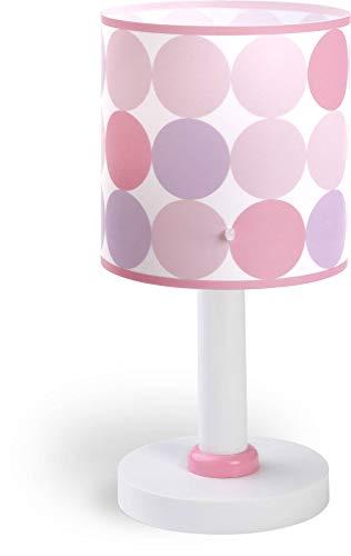 Dalber lampe de table enfant Colors cercles colorés estampés