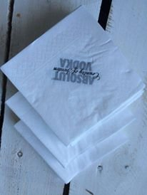 200 x Absolut Vodka servetten Napkin