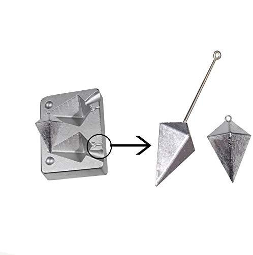 Pirámide 80–110G pesca Sinker molde/Mar Pesca