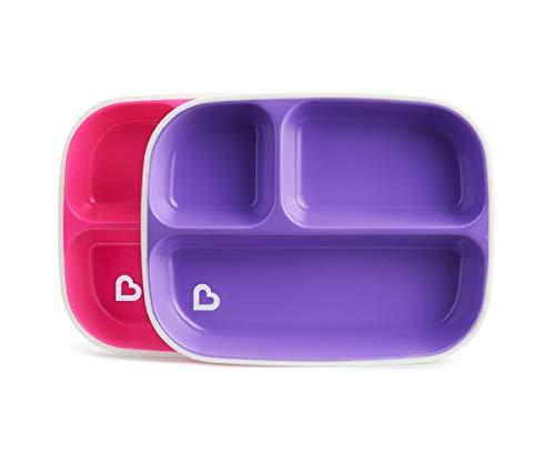 Inny Munchkin Splash Kids 2 Divider Plates (6 Months Plus) BPA Free, 200 g