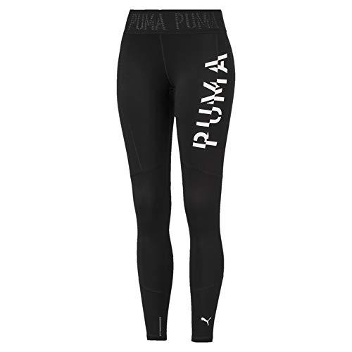 PUMA Damen Logo 7/8 Tight Leggings, Black, M