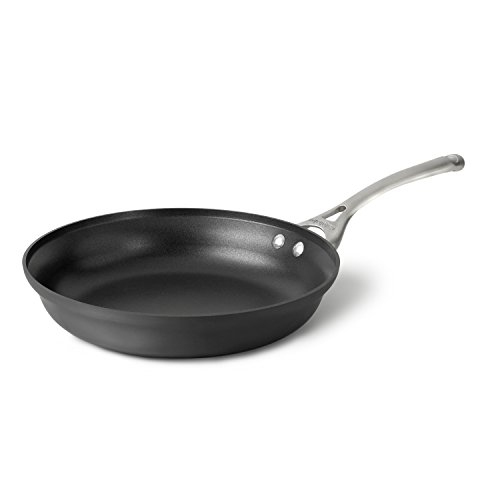Calphalon Contemporary Hard-Anodized Aluminum Nonstick Cookware, Omelette Pan, 12-inch, Black