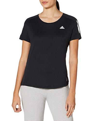 adidas Damen Own The Run T-Shirt, Black, M