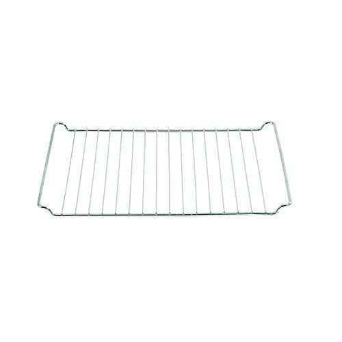 ICQN Universal-Backofenrost geeignet für Bauknecht Whirlpool Ikea Ignis 44,5 x 34 cm | Backofengitter | Backgitter Grillrost für Backofen | Verchromt | 445 x 340 mm