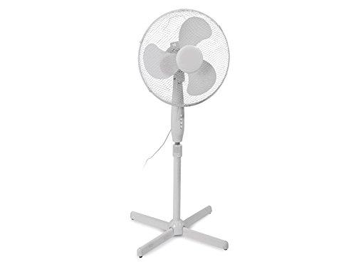 Excellent Electronics 16 Inch Fan Standventilator super Design 3 Geschwindigkeiten rotierend Windmaschine Neuware