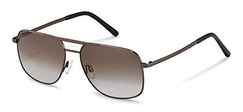 Gafas de sol Rodenstock Highlights Sun R1431 (hombre), gafas de hombre ligeras en estilo aviador, gafas retro con montura de acero inoxidable